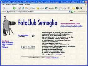 1997.prima versione del nostro sito web