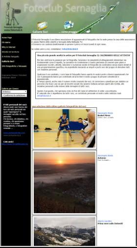 2012.quarta versione del nostro sito web