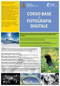 2016 Corso base di fotografia (digitale) a Farra di Soligo