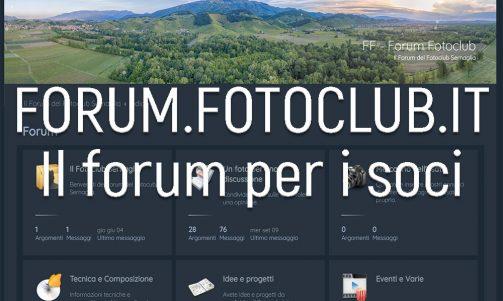forum fotografico per i soci